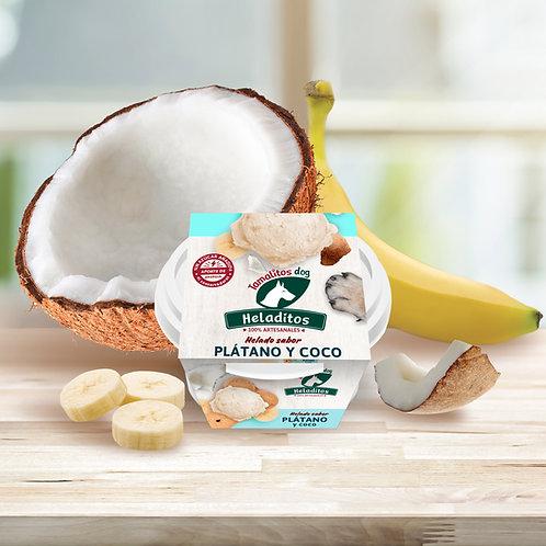Heladitodog Platano Coco