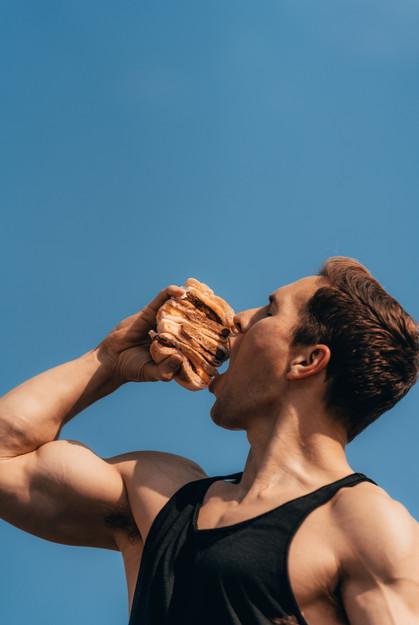 Dunkin Donuts Plant-based Sandwich