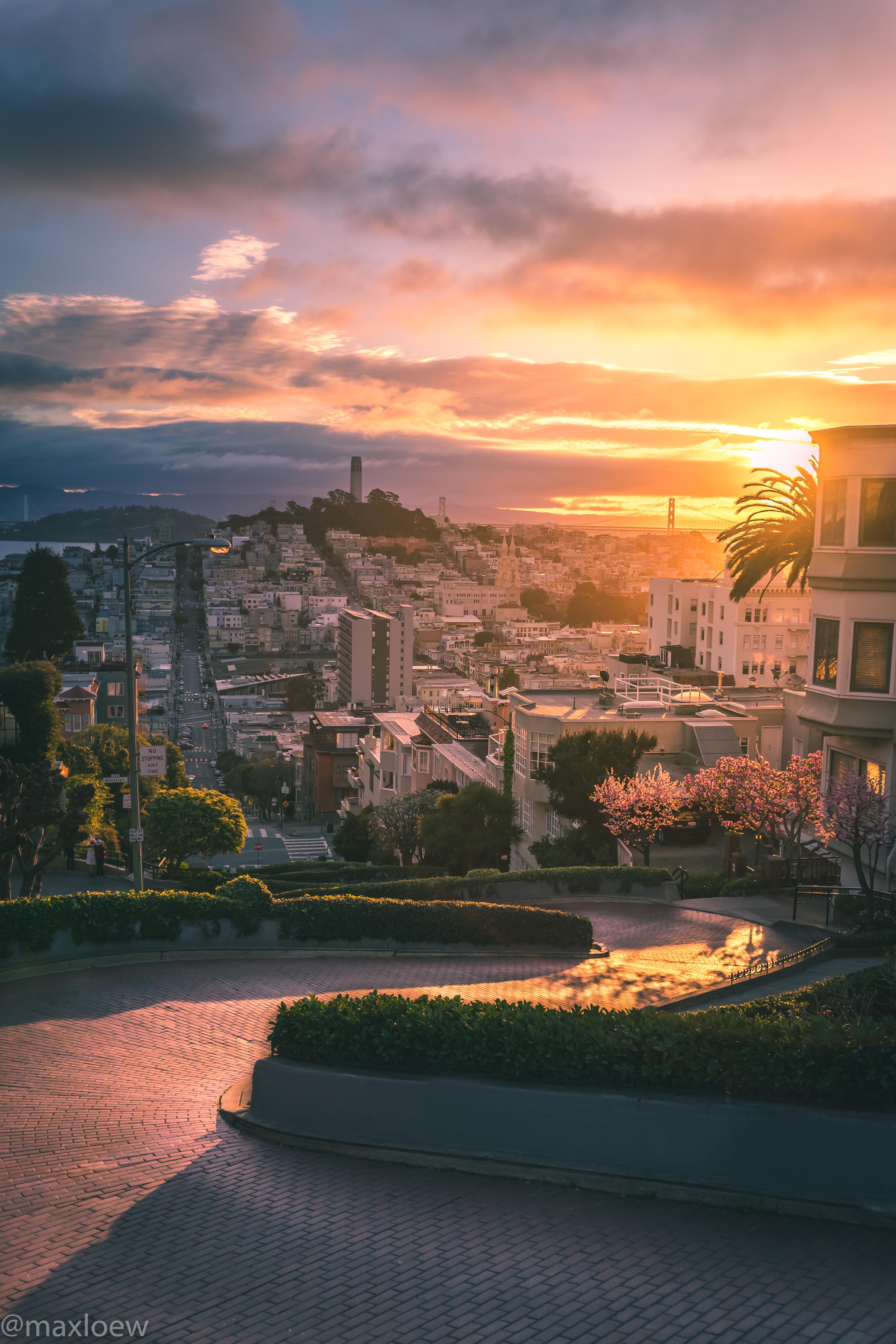 Lombard Sunrise