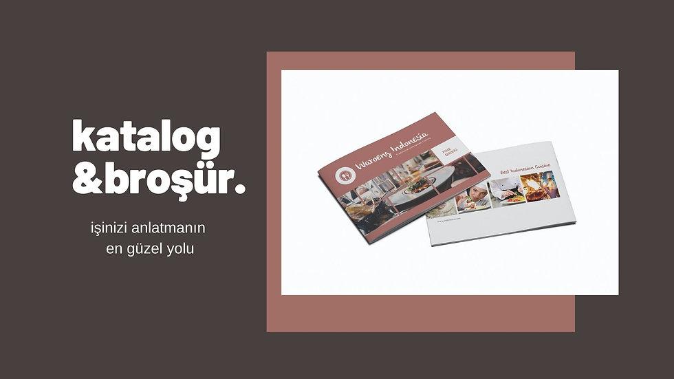 katalog broşür baskı
