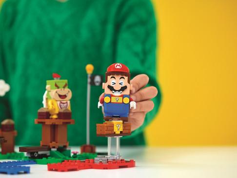 LEGO® ve Nintendo, yaratıcı oyun tutkunlarını yeni LEGO® Süper Mario™ oyun deneyimi ile buluşturuyor
