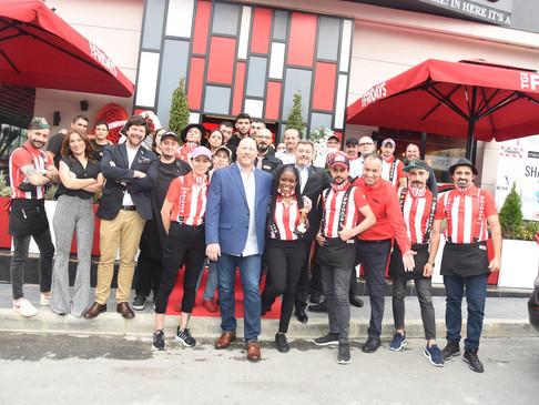 TGI Friday's Ataşehir'de 2. şubesini açtı…