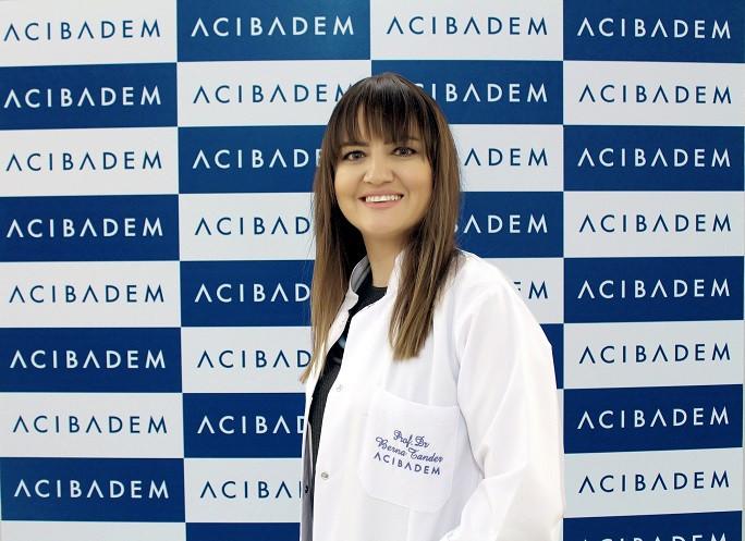 Acıbadem Bakırköy Hastanesi Fizik Tedavi ve Rehabilitasyon Uzmanı Prof. Dr. Berna Tander