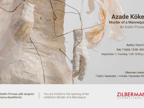 """Azade Köker'in """"Bir Katlin Provası"""" başlıklı yeni sergisi Zilberman - İstanbul'da!"""