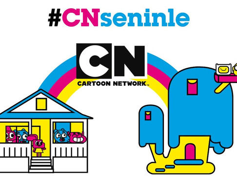 """Cartoon Network çocuklara """"Seninleyim"""" diyor"""