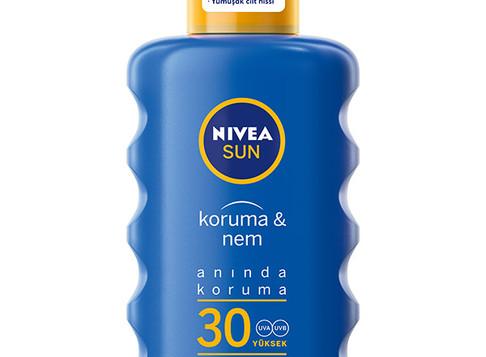 NIVEA Sun Koruma & Nem serisiyle,bakım ve koruma bir arada…