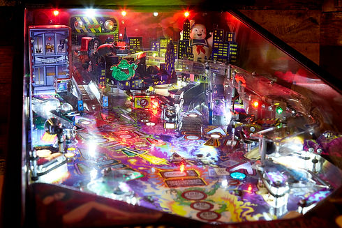Ghostbusters pinball game