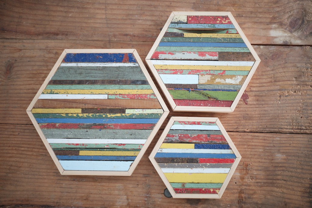 Hexagon Set (sold)