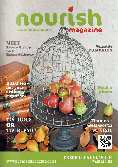 Cover Nourish Magazine Autumn 2014