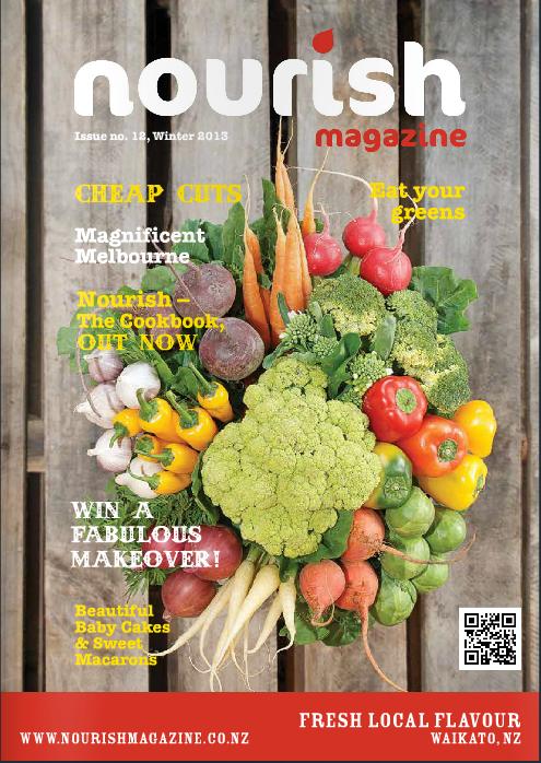 Cover Nourish Magazine Winter 2013