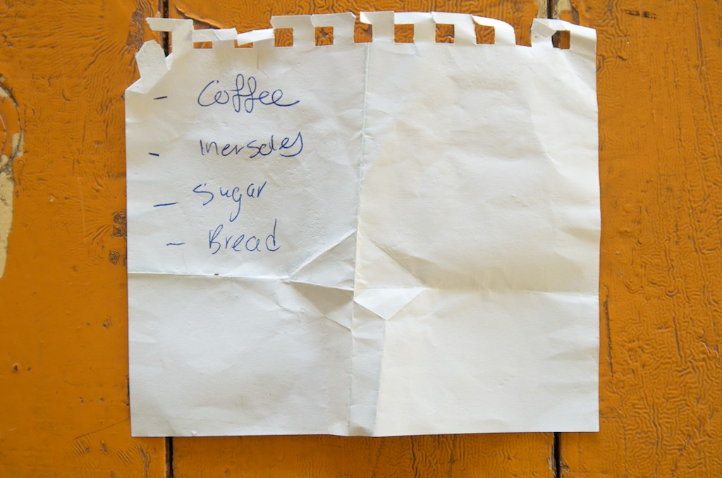 Shopping List Project