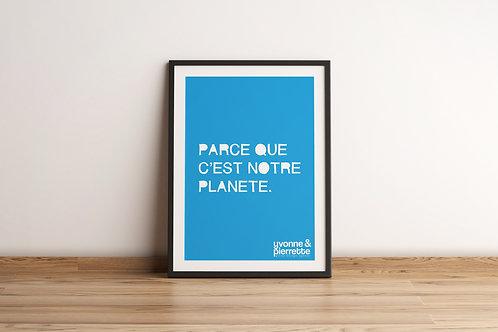 Affiche - Planète (29,7x42)