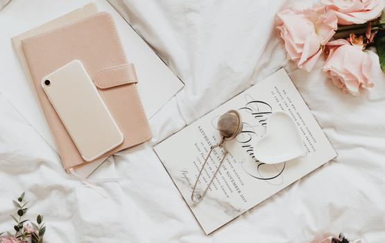 romantic wedding invitations
