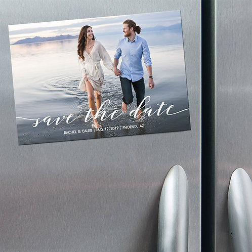Modern Save the Dates - Magnet