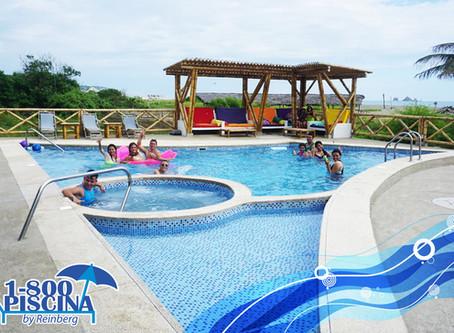 Construcción de piscinas y jacuzzis en Puerto López - Manabí
