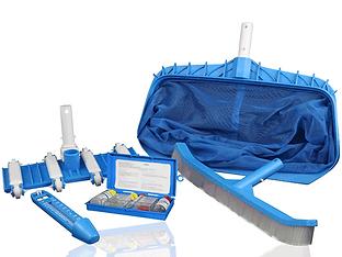 kit de limpieza para piscinas y jacuzzi