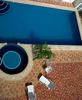 Piscina 3 x 6 mt + piscina de niños.