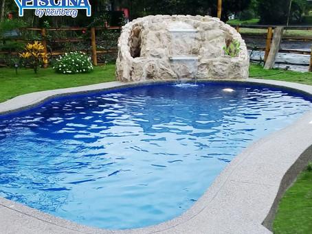 Hermosa piscina en olon