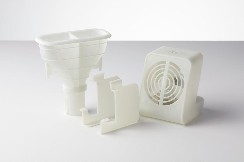 ตัวอย่างชิ้นงานจากวัสดุ Ceramic ขึ้นรูปด้วยเทคโนโลยี SLA