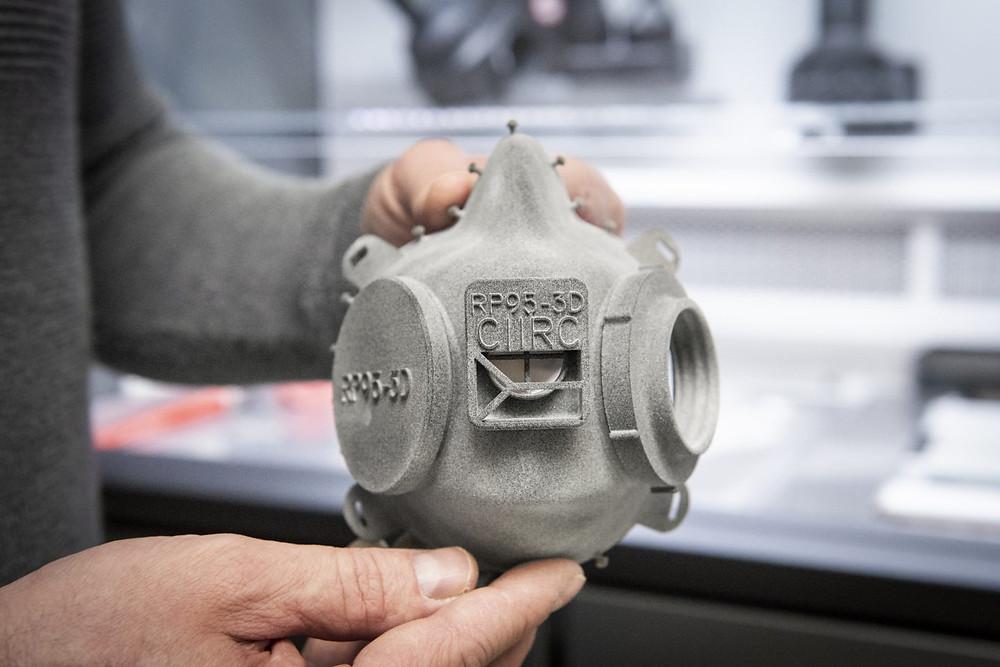 CIIRC RP95-3D จาก 3D Printer เทคโนโลยี Multi Jet Fusion