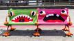 Yarn Bombing, l'arte degli intrecci urbani