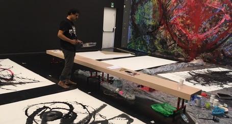 L'arte in equilibrio di Manohar Chiluveru