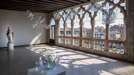 Design, arte e architettura si incontrano alla Ca' d'Oro di Venezia