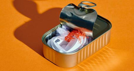 The Microplastic Photo Series, la plastica nel cibo