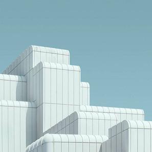 L'astrazione delle forme urbane di Jeroen Peter