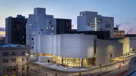 Qaumajuq, il nuovo centro d'arte Inuit alla Winnipeg Art Gallery, in Canada
