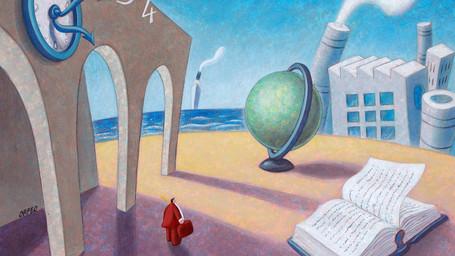 Altrovento: mestiere, arte e solidarietà con il disegno di Armando Orfeo
