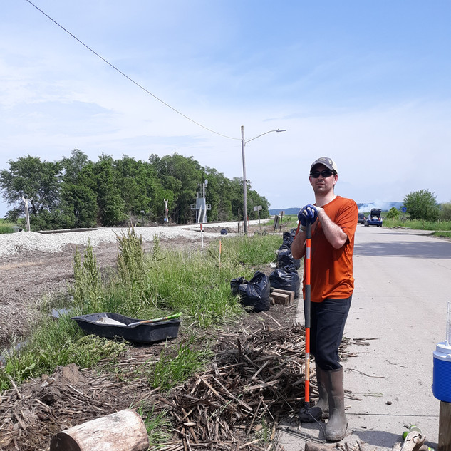 2019 Flood Cleanup at Pacific Junction Iowa
