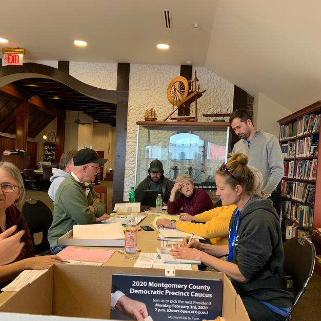 Monthly Meeting at Red Oak Library