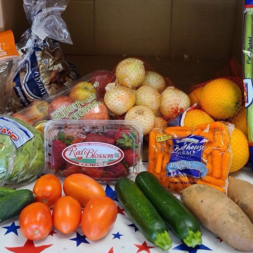 USDA Food Box Distribution