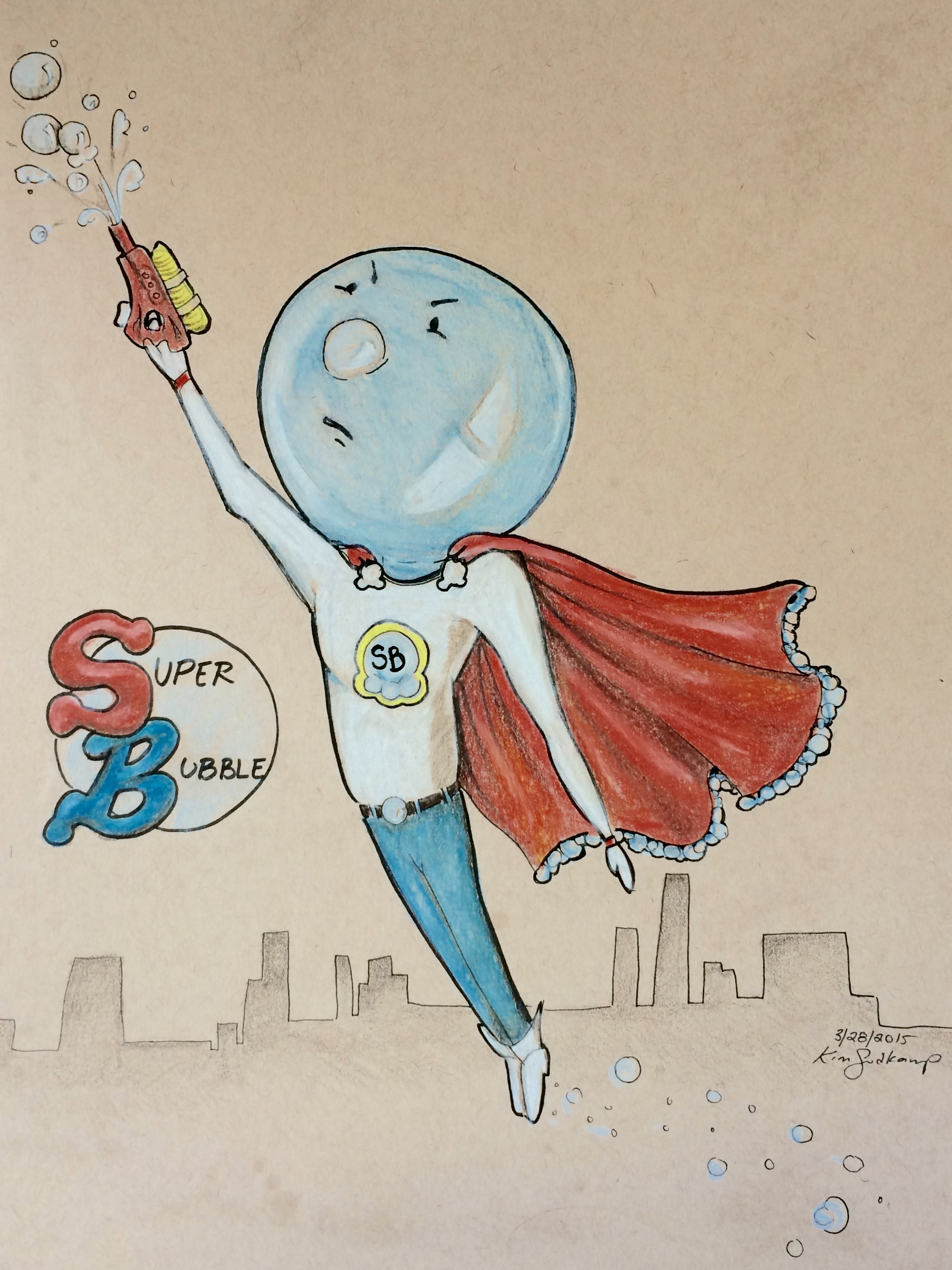 Super Bubble Man!