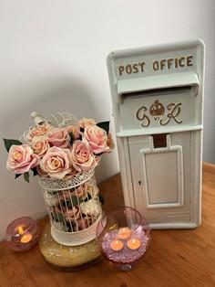 White Post Box