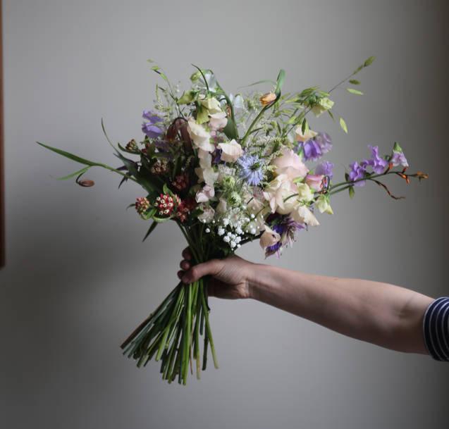 Alison's bridal bouquet