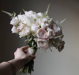 Rachel's bridal bouquet