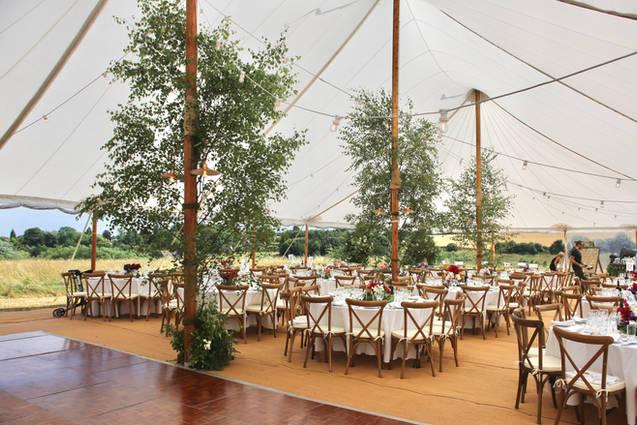 Oxfordshire marquee wedding