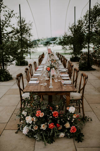 Hedgerow tablescape