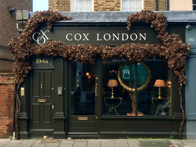 Cox Christmas Window