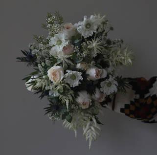 Elizabeth's bridal bouquet