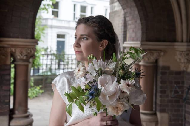 Sarah's bridal bouquet
