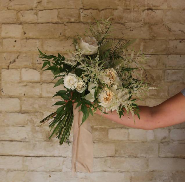 Tor's bridal bouquet