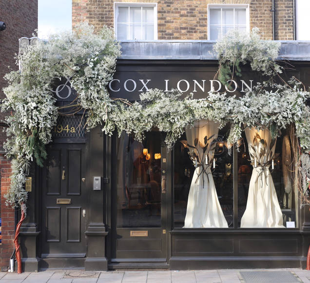 Gypsophilia Clouds for Cox London