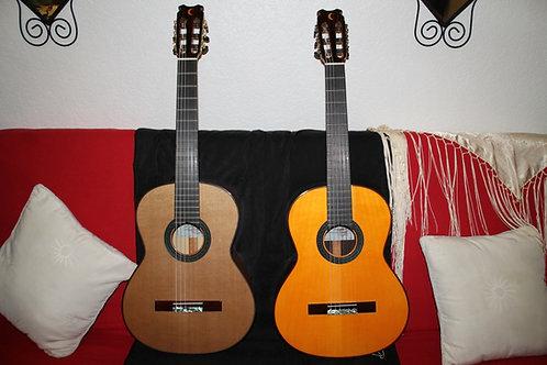 Guitare Flamenco Medialuna Burguet
