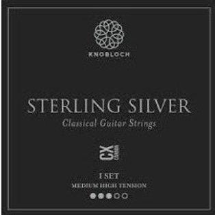 Cordes Knobloch Sterling Silver 400SSC argent pur/carbone