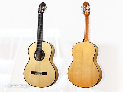 Guitare classique Amalio Burguet 1 F Blanca
