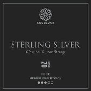 Cordes Knobloch Sterling Silver 400SSQ argent pur/nylon