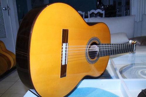 Guitare Flamenca Amalio Burguet DV negra